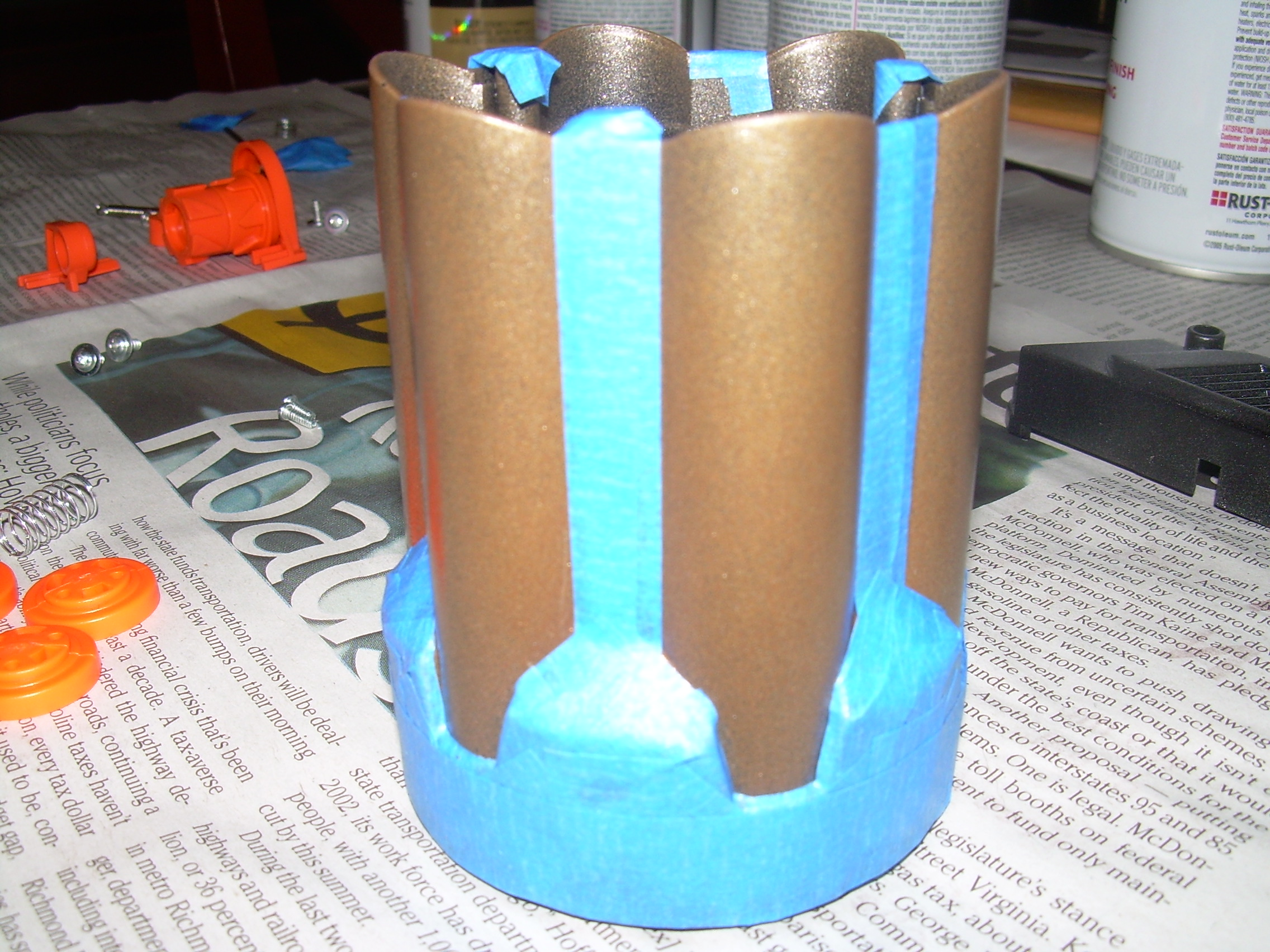 Nerf Maverick masked cylinder