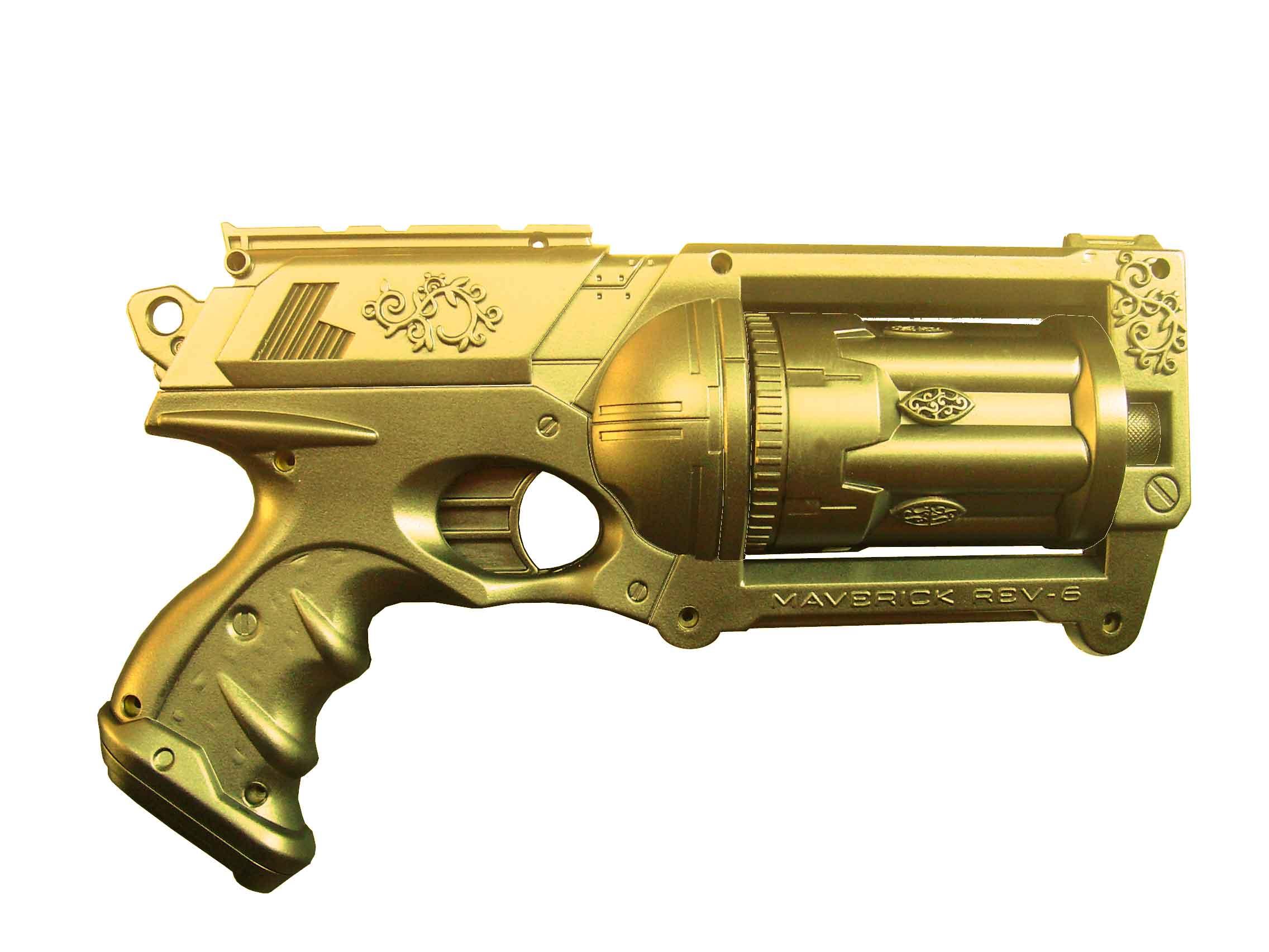 Nerf Maverick gold