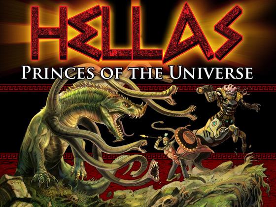 HELLAS Princes Of The Universe