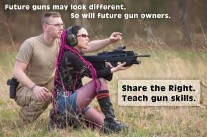 teach gun skills
