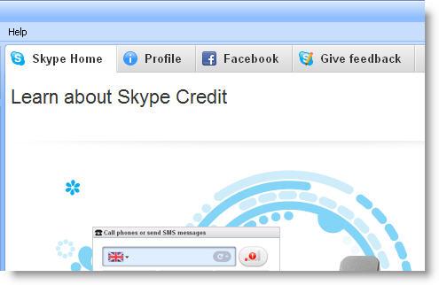 Skype tabs