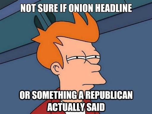 Onion vs Republican