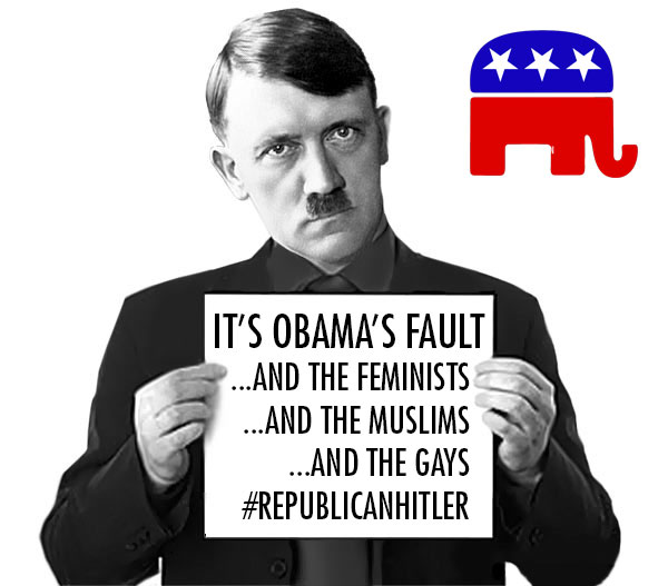 Image result for Hitler is a republican