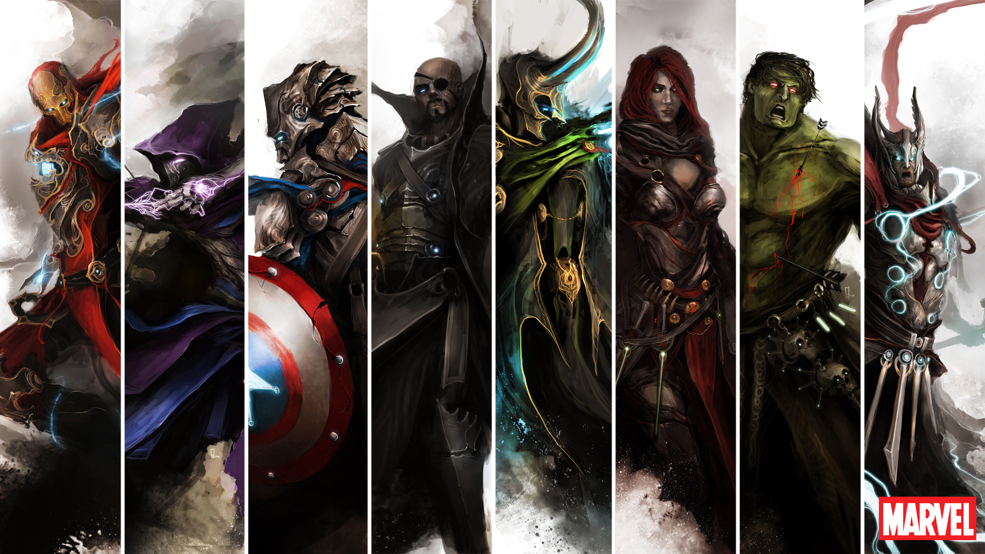 medieval Avengers (thedurrrrian)