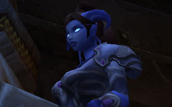 I am meeting friendly draenei