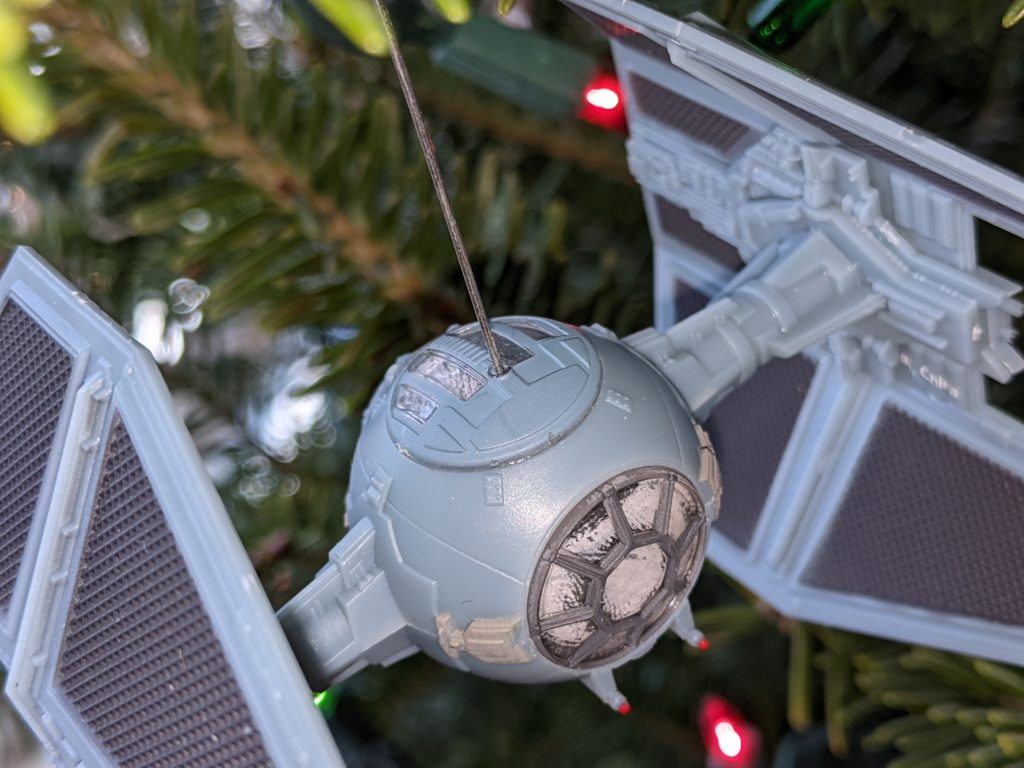 Tie Interceptor Christmas Ornament